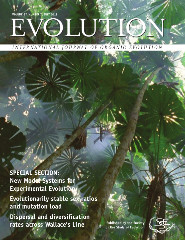Evolution cover featuring our article